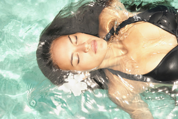 Protect Your Hair from the Pool with These Tricks